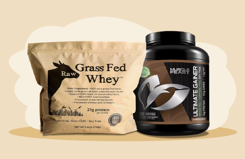 Benefits of using a Grass Fed Whey Protein Powder
